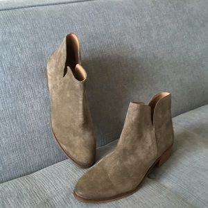 Splendid Brown Suede Ankle Boots